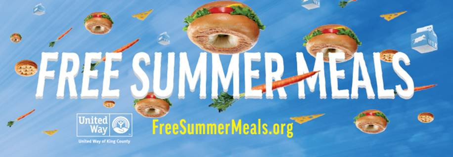 Free Summer Meals Graphic - Tool can be found at www.FreeSummerMeals.org